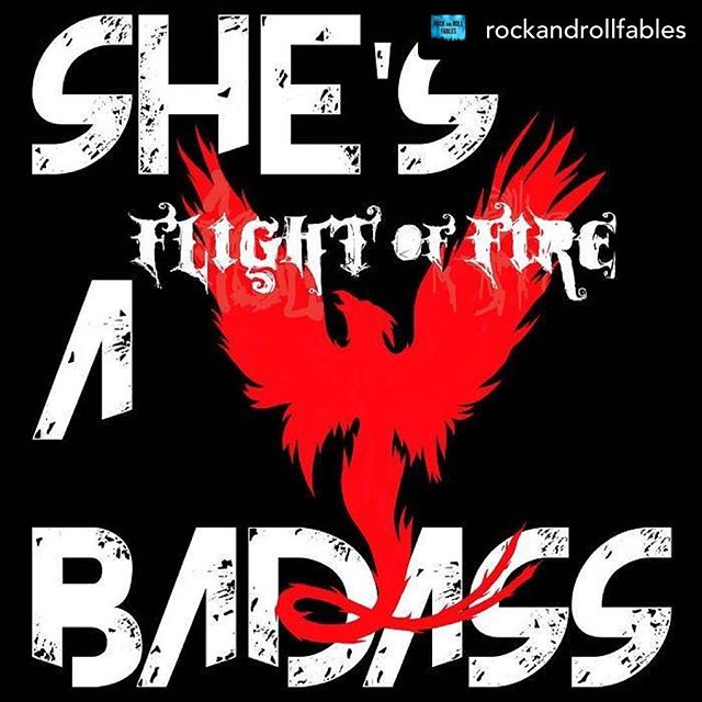 """Posted @withrepost • @rockandrollfables Boston's @flightoffire is calling it quits. For now. But before they bow out they're leaving fans with a new EP featuring the one and only #CherieCurrie. We reviewed #ShesABadass and shared the statement from #FlightofFire on their hiatus in our new post. #linkinbio #supportlocal #review #news #boston #rawk #music #blog #musicblog #bloglife #rockandrollfables #rnrf 🔥🔥🔥🔥🔥🔥🔥 Today we are proud to release the """"She's A Badass"""" EP along with the official music video for the collaboration title track featuring the legendary 🍒Cherie Currie🍒 of The Runaways. However, in the wake of the release, it is with a heavy heart that we announce our indefinite hiatus. Please read the article linked in our bio from Rock And Roll Fables for the full story.  We have dedicated our lives to this band for almost a decade and the connections and bonds we've made through our music all over the world will always stay with us. Knowing that our songs have positively impacted the lives of our fans yields one of the most beautiful feelings imaginable and we feel so lucky to have touched so many lives. We truly cannot thank you all enough for standing by our side with your continued love and support over the years! We couldn't have done what we've done without each and every one of our dedicated fans.  Despite the hiatus, @mavericktastic, @tanya_venom, @tia_mayhem, and @maddiedrummer27 will all continue to be involved in the music community in new ways so please be on the lookout for any new projects that any of our members go on to create. Music is a vital part of each of our lives and that will always be our truth. 🖤🔥🖤🔥🖤"""