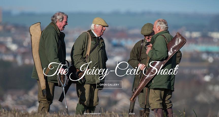 31) Joicey Cecil Shoot - 17th November, 2017.