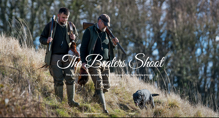 25) The Beater's Shoot - 28th January, 2017.