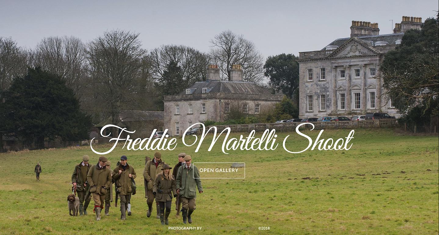 35) Freddie Martelli Shoot - 13th January, 2018.