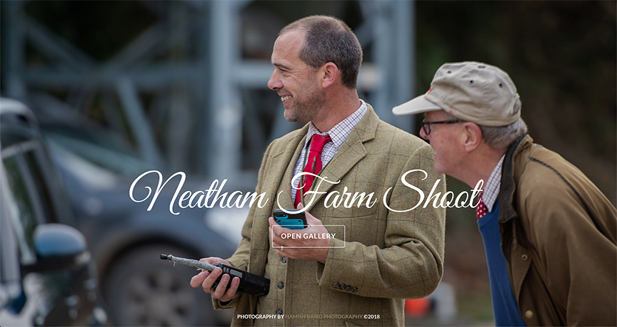 42) Neatham Farm Shoot - 24th October, 2018.