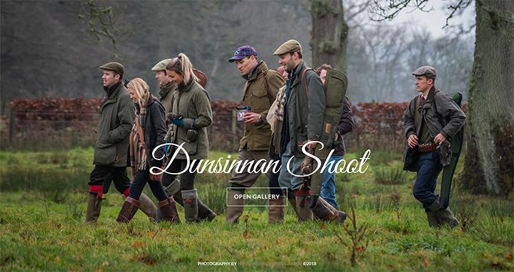 47) The Dunsinnan Estate Shoot - 1st December, 2018.