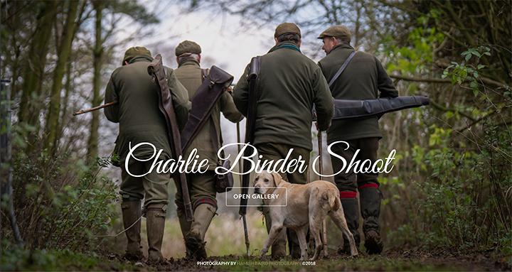 48) Charlie Binder Shoot - 10th December, 2018.