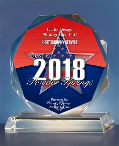 """Best of Photography Services 2018 - The City of Powder Springs nominated Liz by Design as the """"Best of"""" in the photography services category for 2018! Click Here!"""