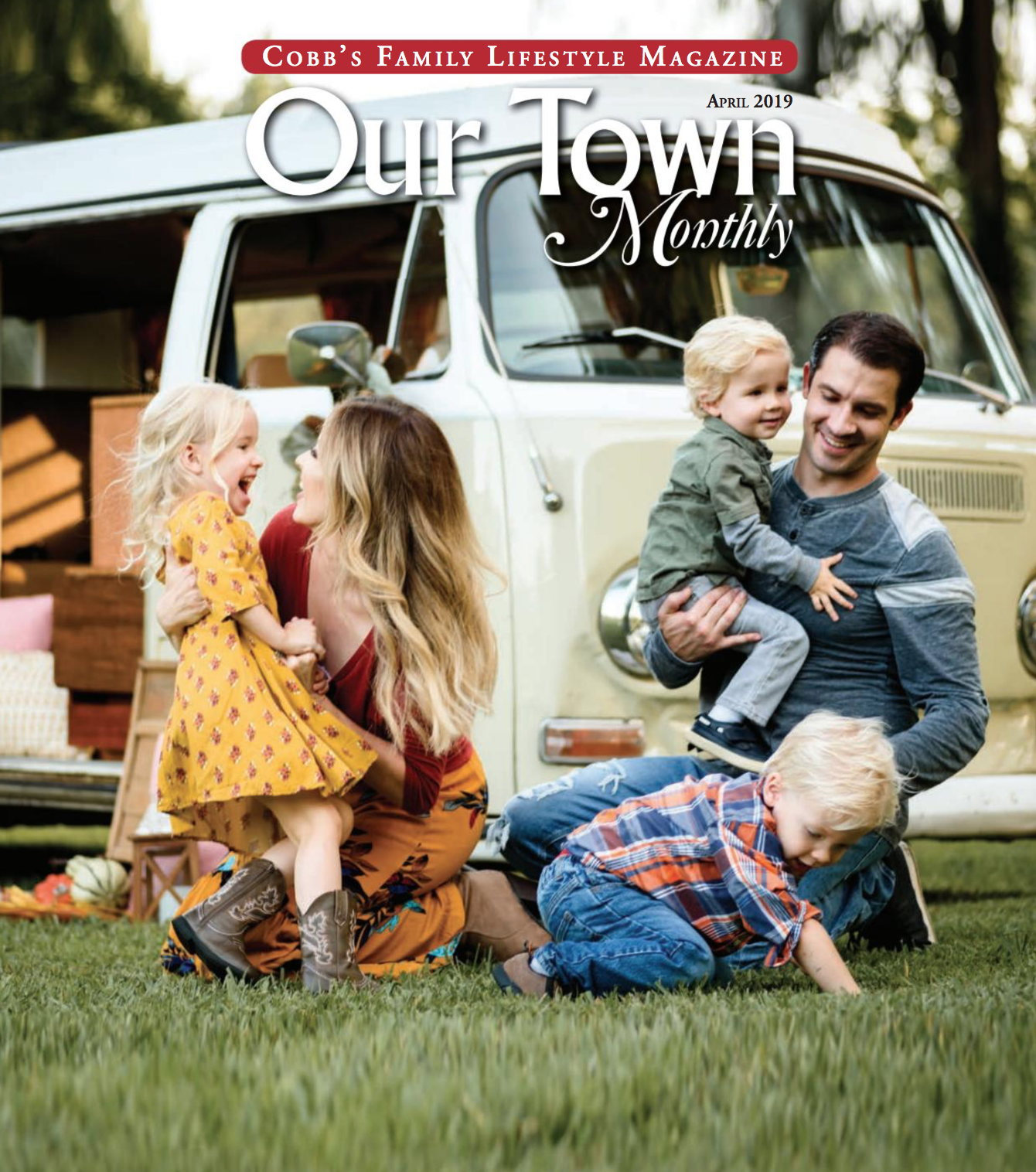Our Town Monthly Magazine! - Liz by Design was chosen to be the featured photographer for Our Town Monthly (Cobb County) Magazine for April 2019! Check out the cover and page 8 of the digital copy, just Click Here.