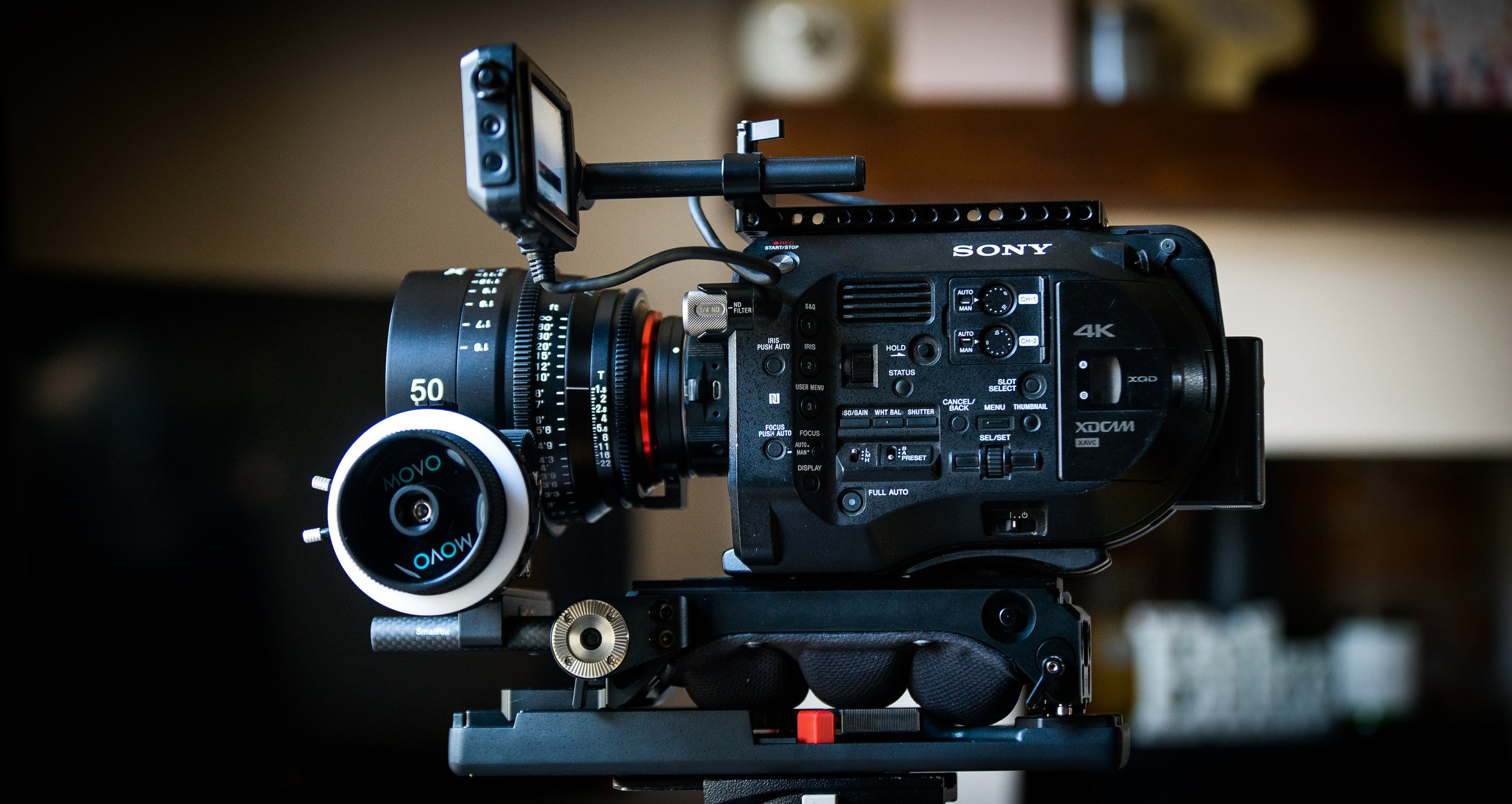 FS7 with the new 50mm XEEN.