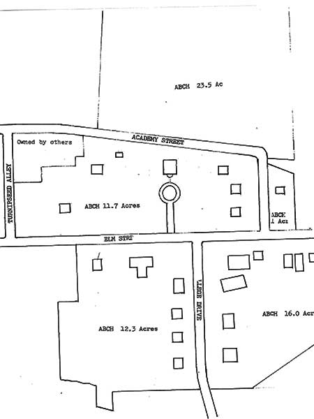 Troy campus layout