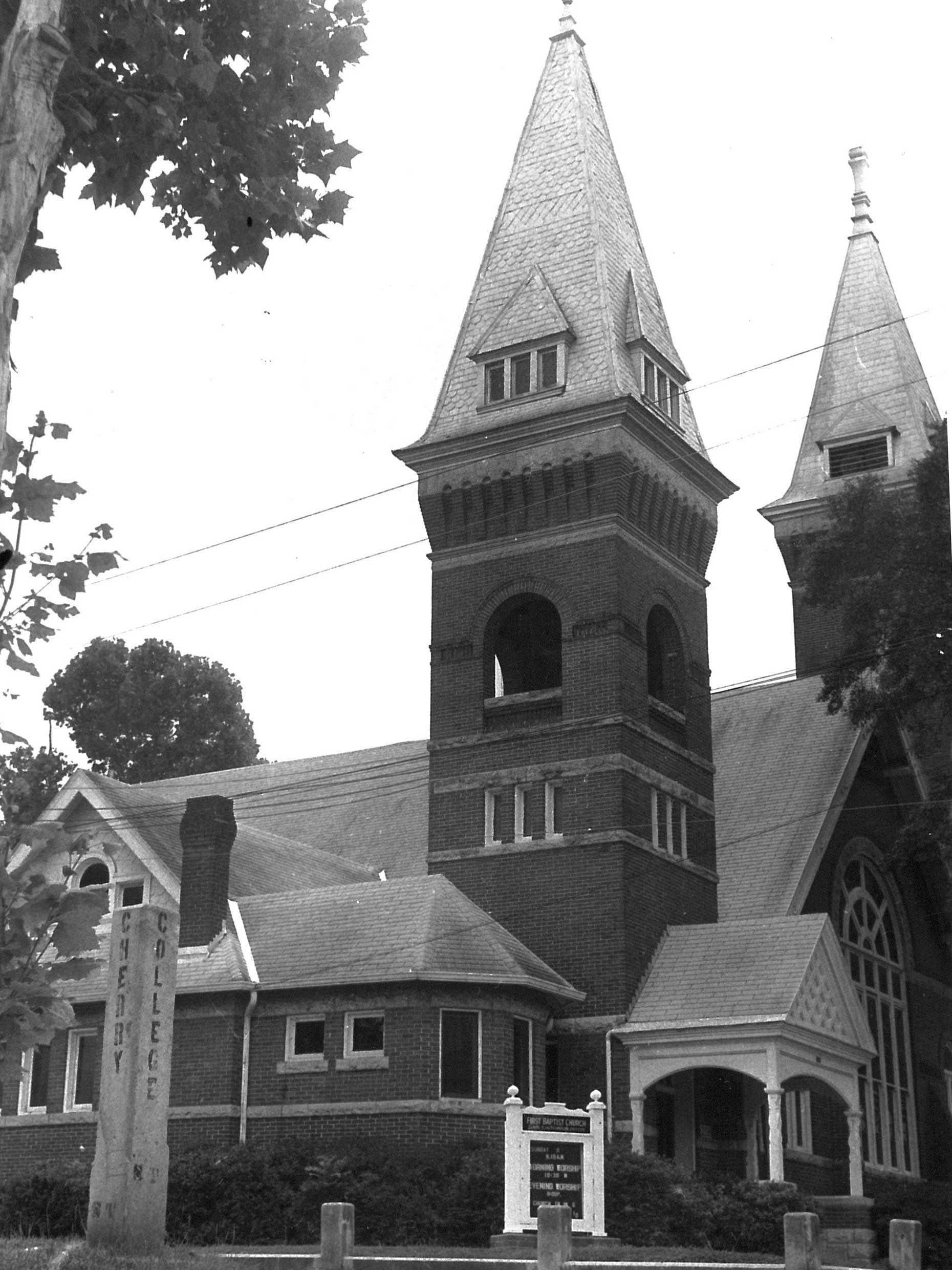 Troy FBC, where the children attended