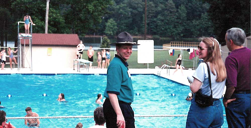 """With ABCH since 1996, VP of Administration, Riley Green, or """"Ranger Riley"""" at Camp"""