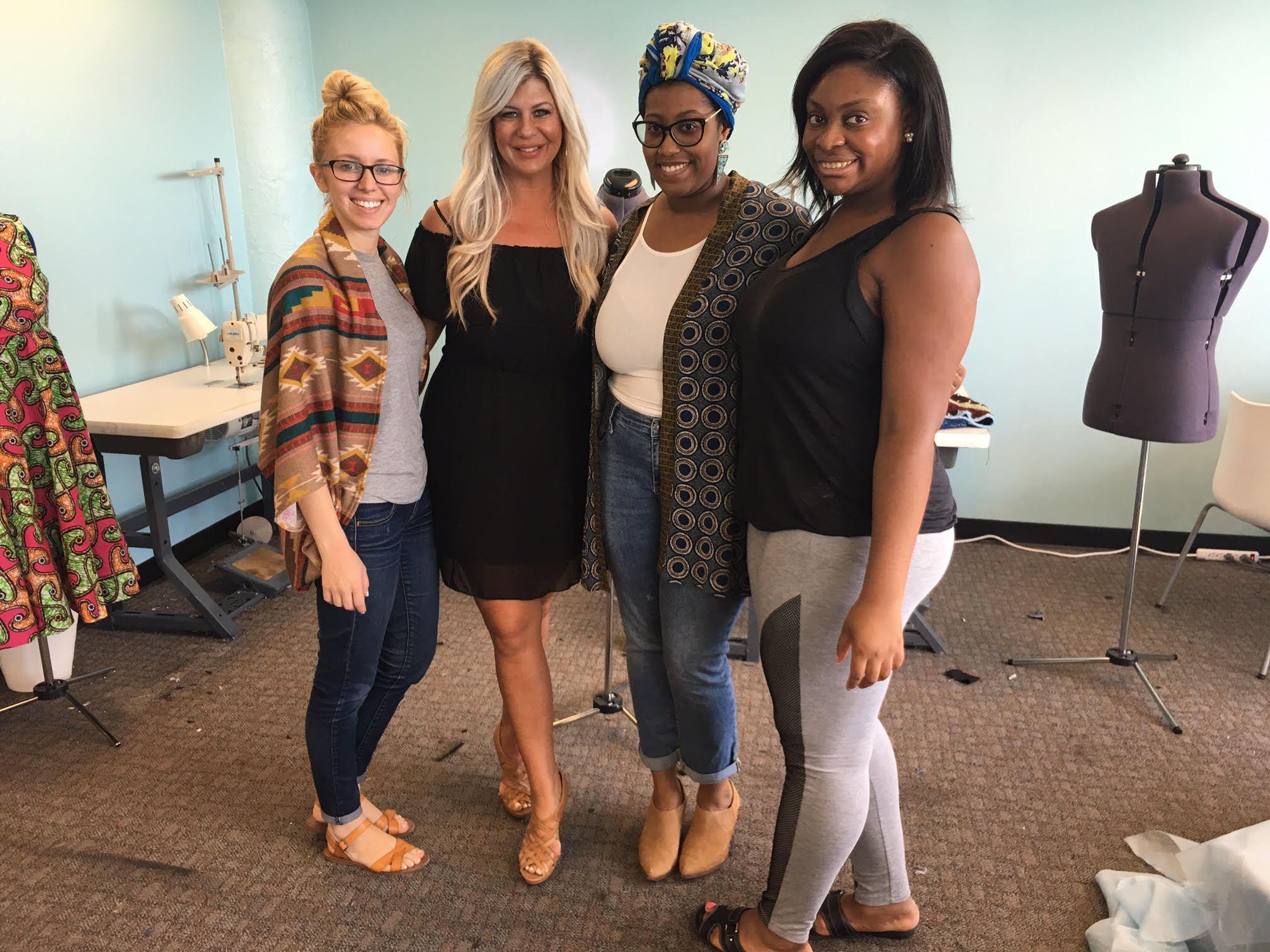 #TeamDFN Visits the Detroit Garment Group -