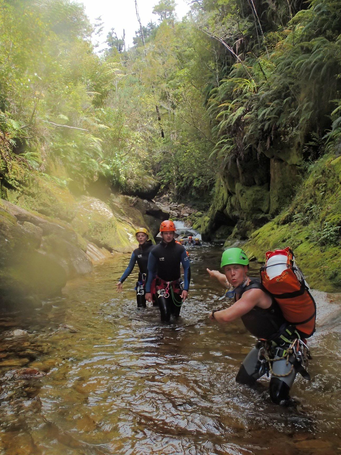 Fun times guiding in New Zealand.