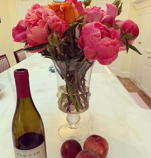 Peonies & Peaches! Happy Spring everyone!