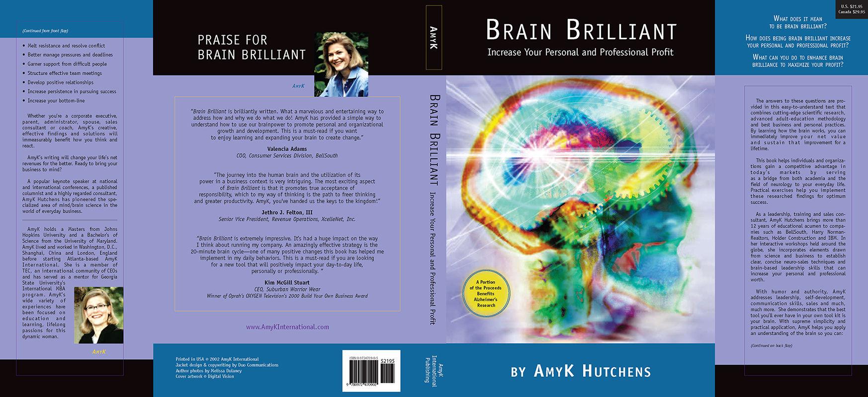 Brain Brillant Dust Jacket