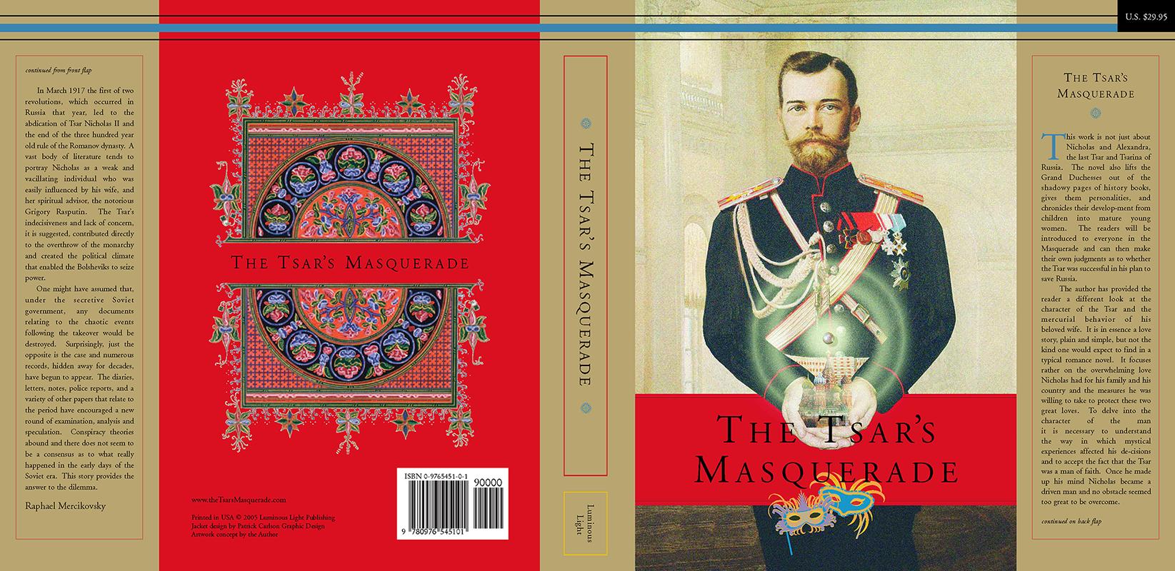 The Tsar's Masquerade Dust Jacket