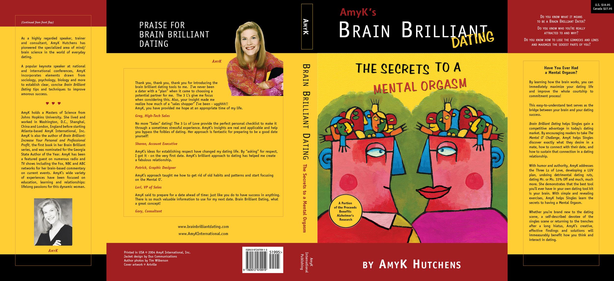 Brain Brilliant Dust Jacket