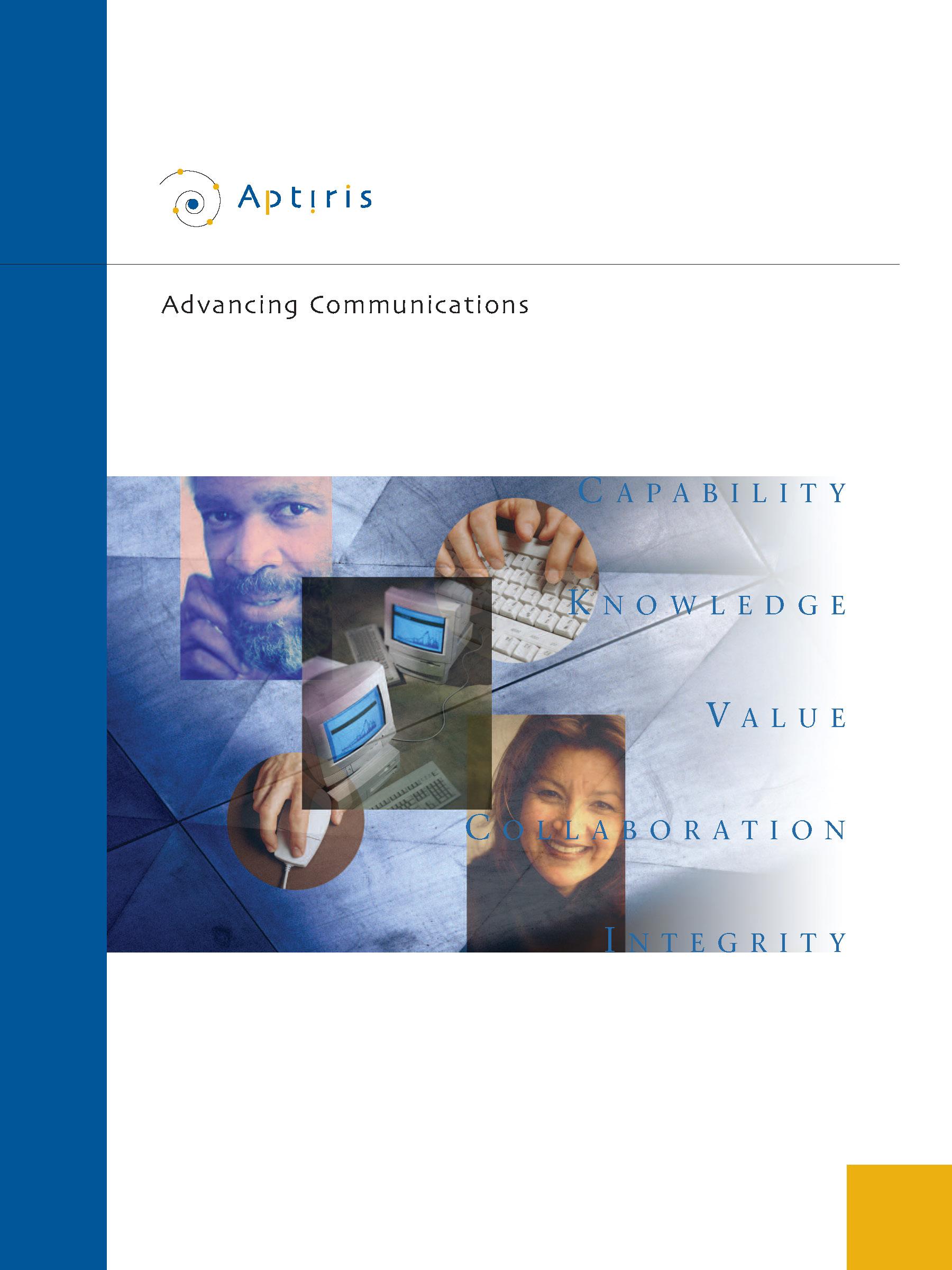 Aptiris Marketing Collateral Pocketfolder