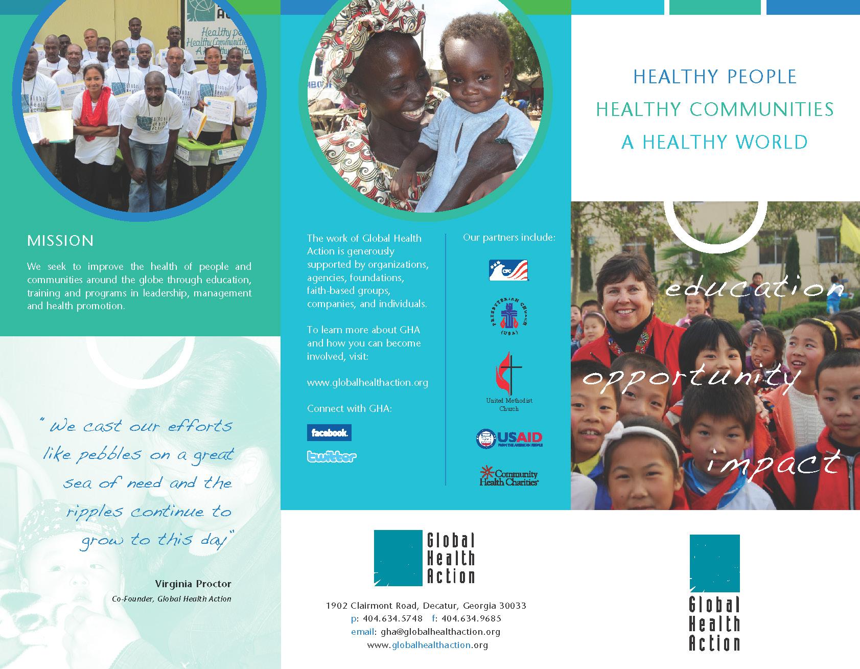 Global Health Action Brochure