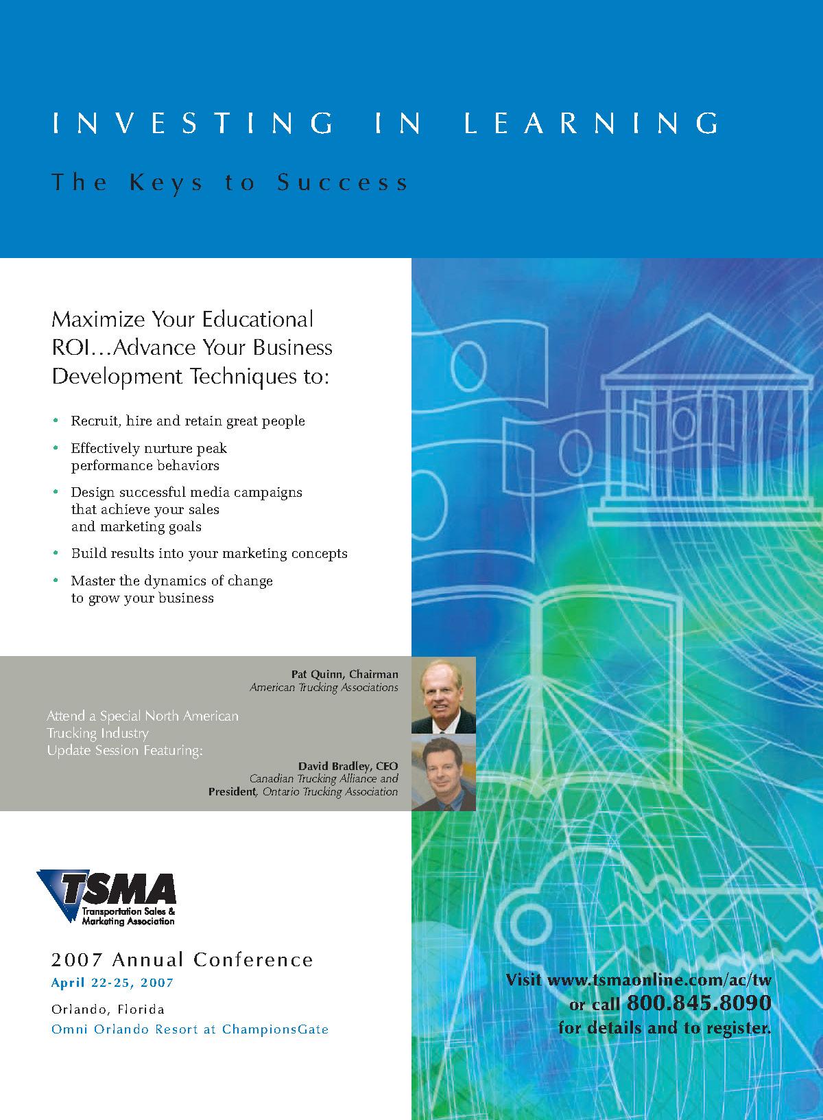TSMA Full Page Magazine Advertisement