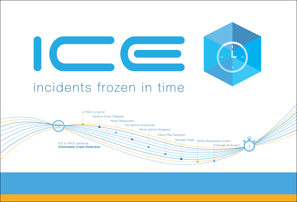 ICE Trade Show Booth Background Display