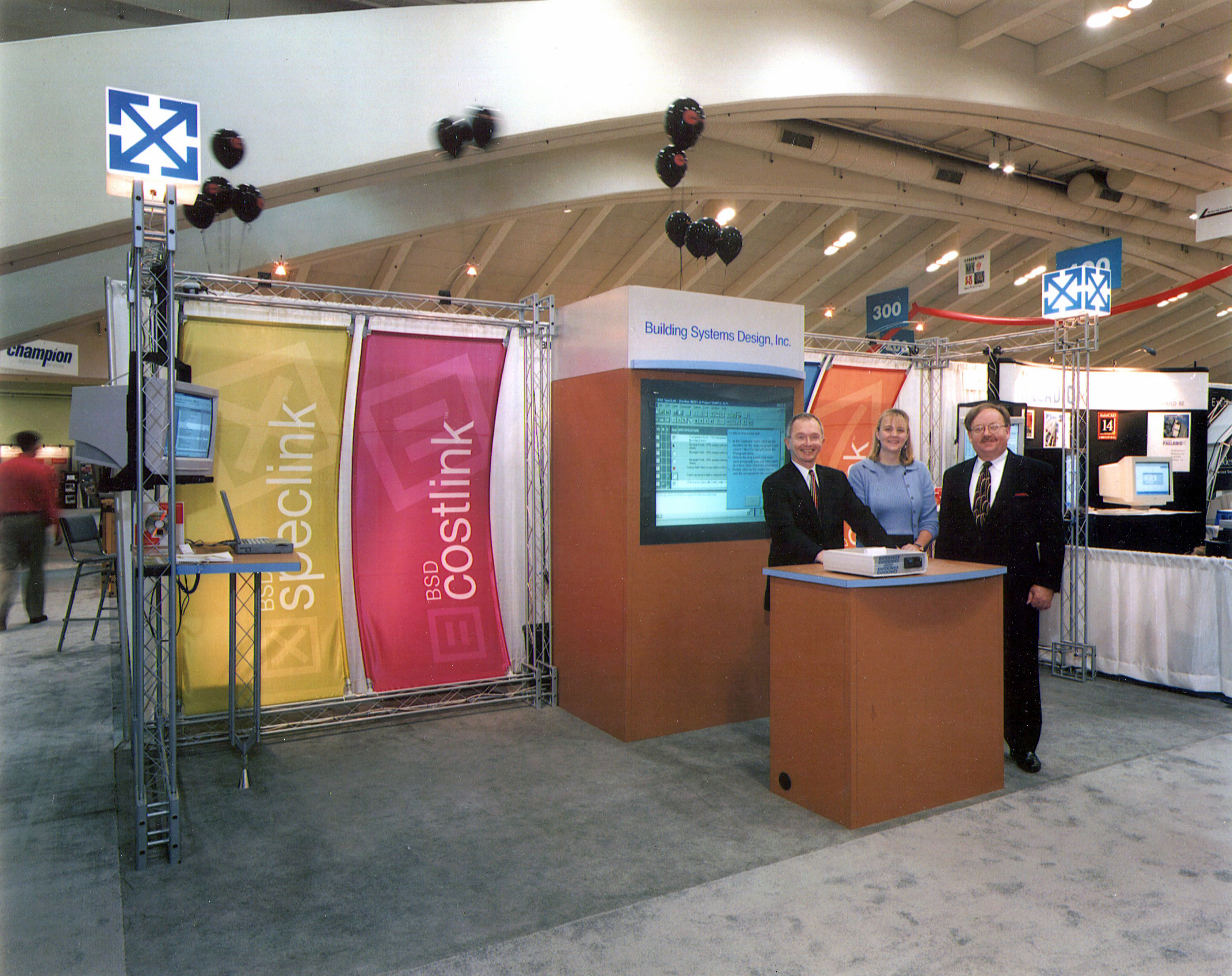 BSD Software Trade Show Booth and Graphics