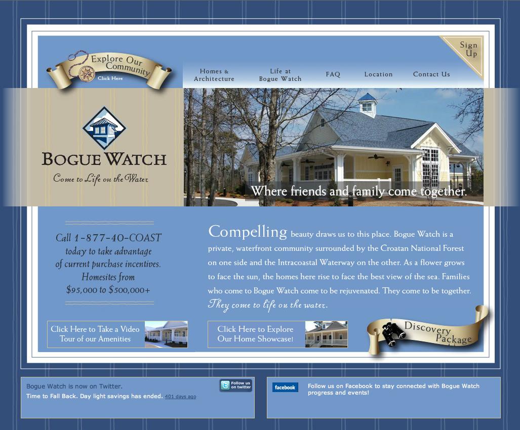 Bogue Watch Website