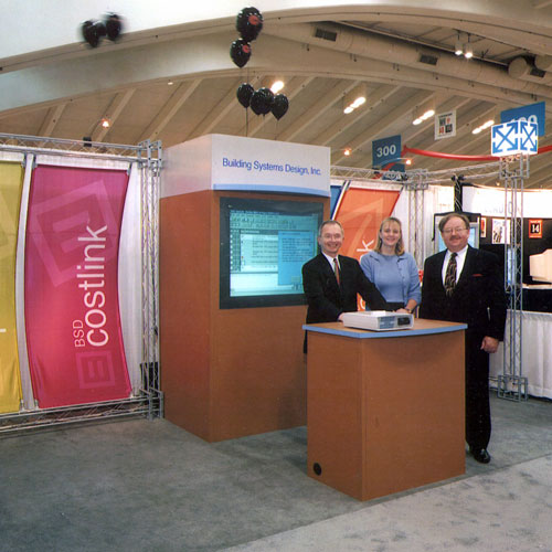 BSD Software Trade Show Booth