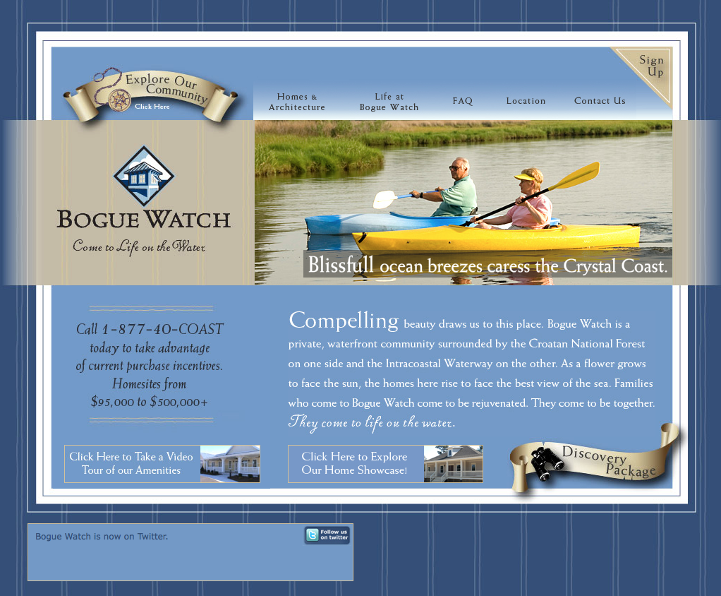 Bogue Watch Home Page