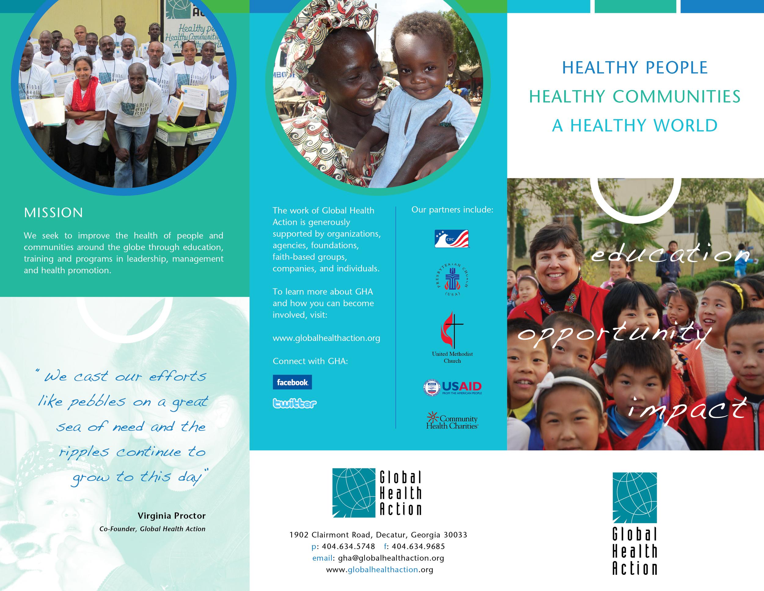 Global Action Brochure