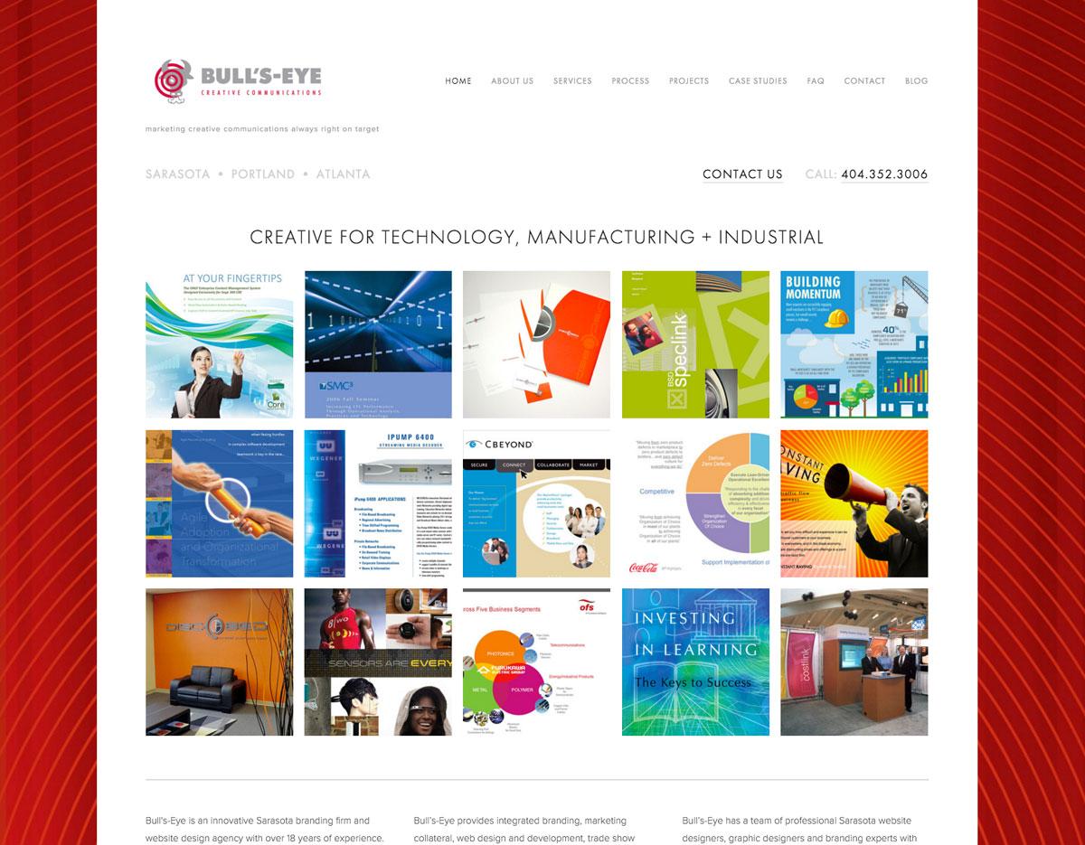 New-Bull's-Eye-Website