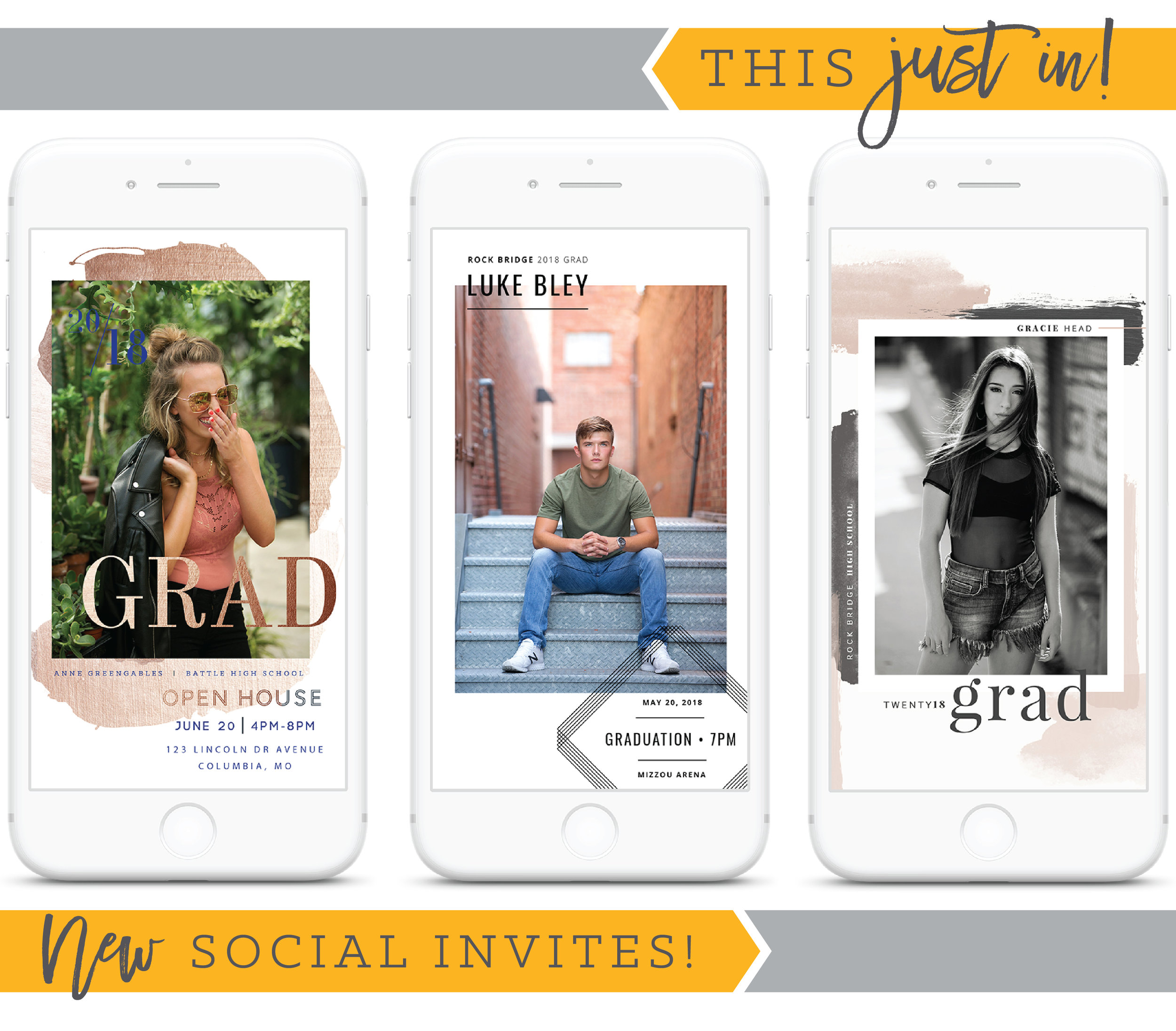 This just in! New social invites!