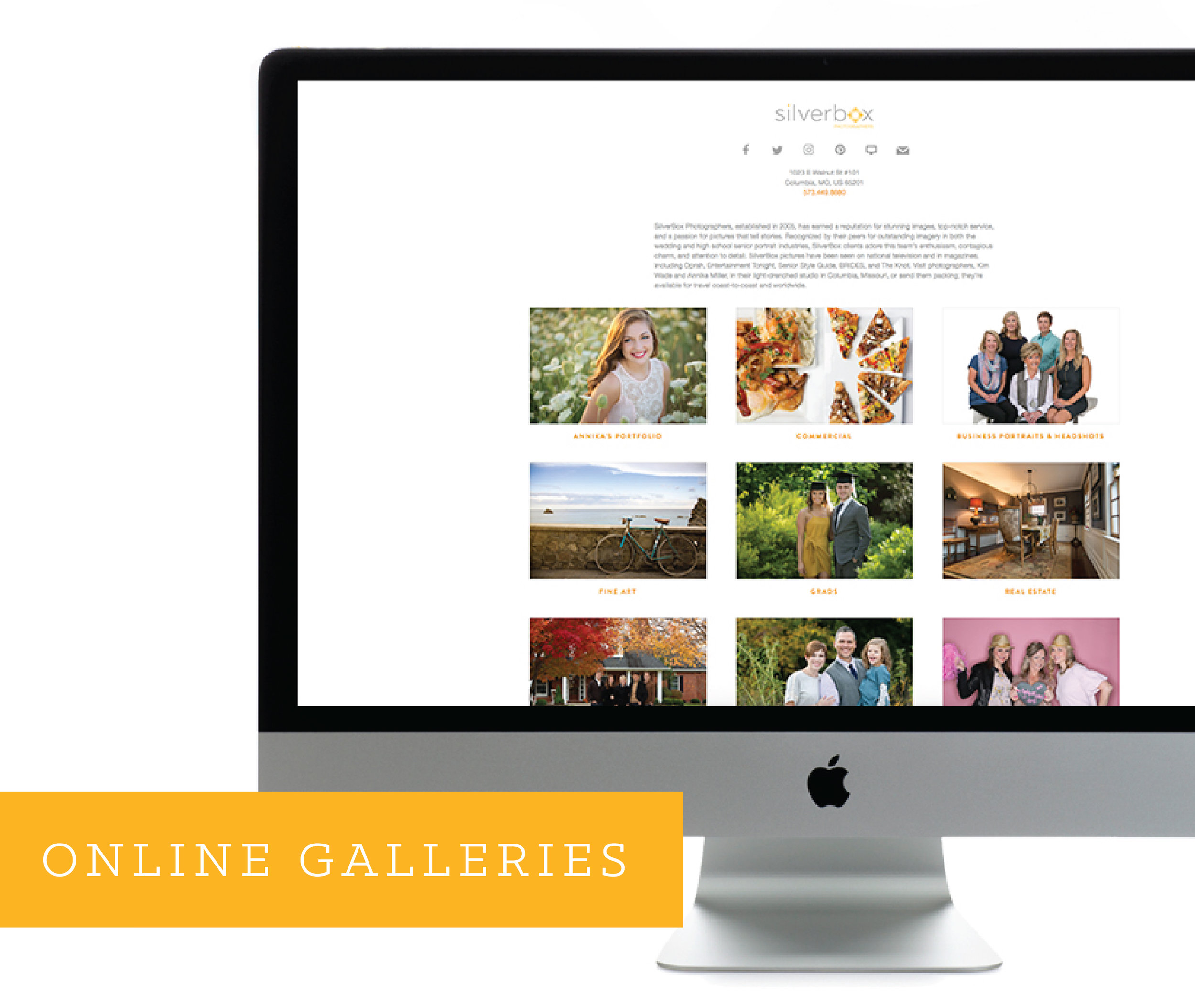 Senior Online Galleries