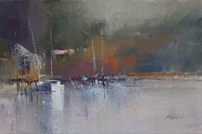 Out of the Morning Haze - SOLD