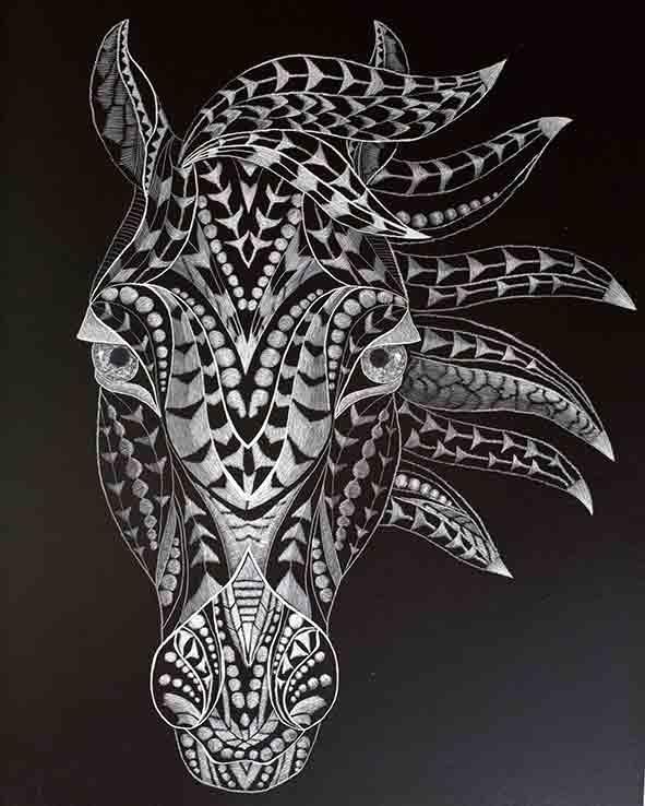 Graphic Horse