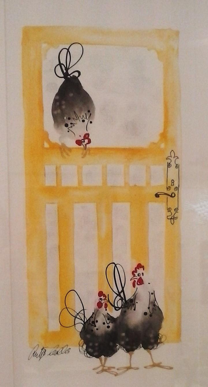 Yellow Door - SOLD