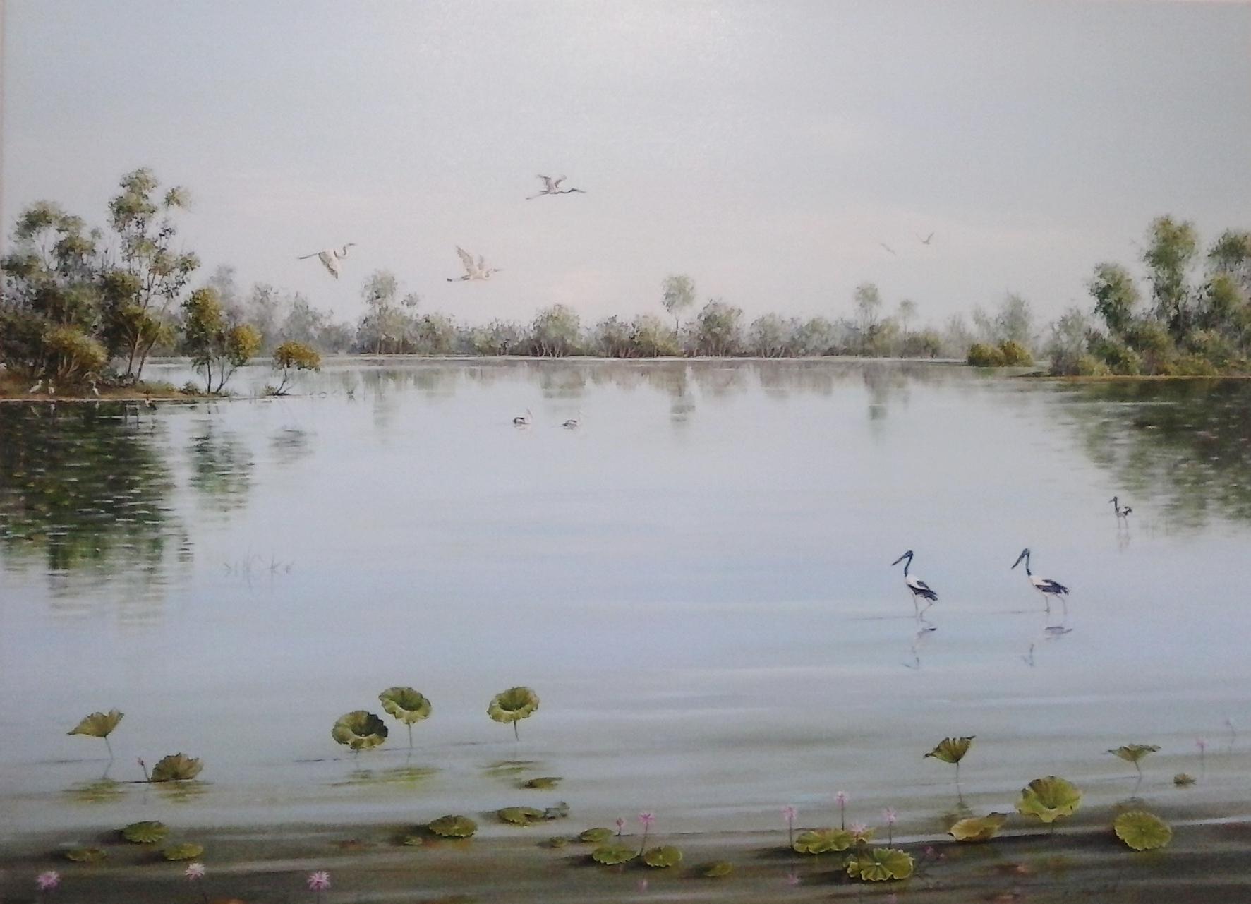 Yellow Waters Kakadu -SOLD
