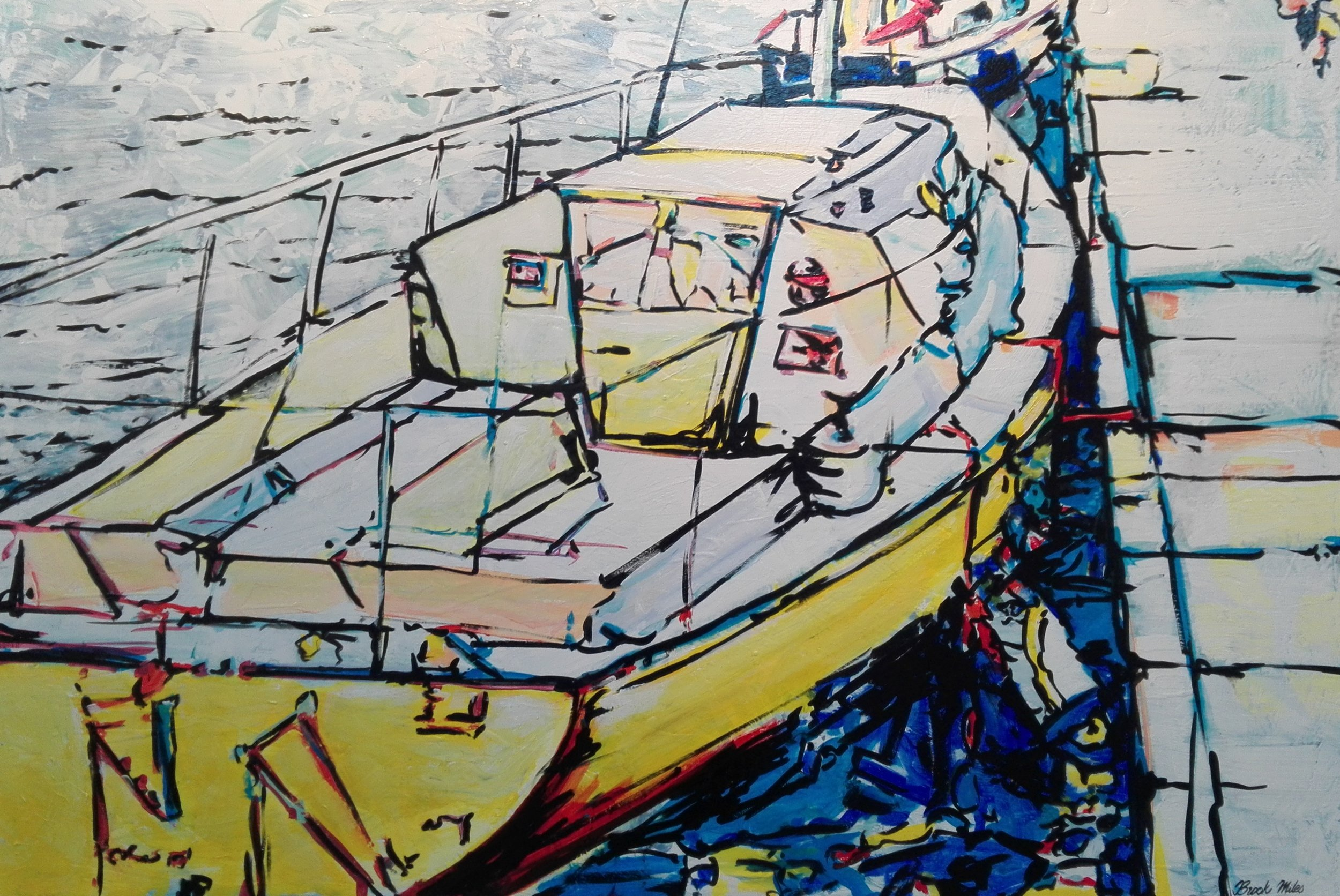 Lets Take The Boat Out - SOLD