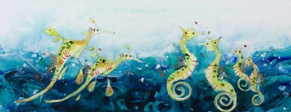 Sea Horse and Sea Dragons