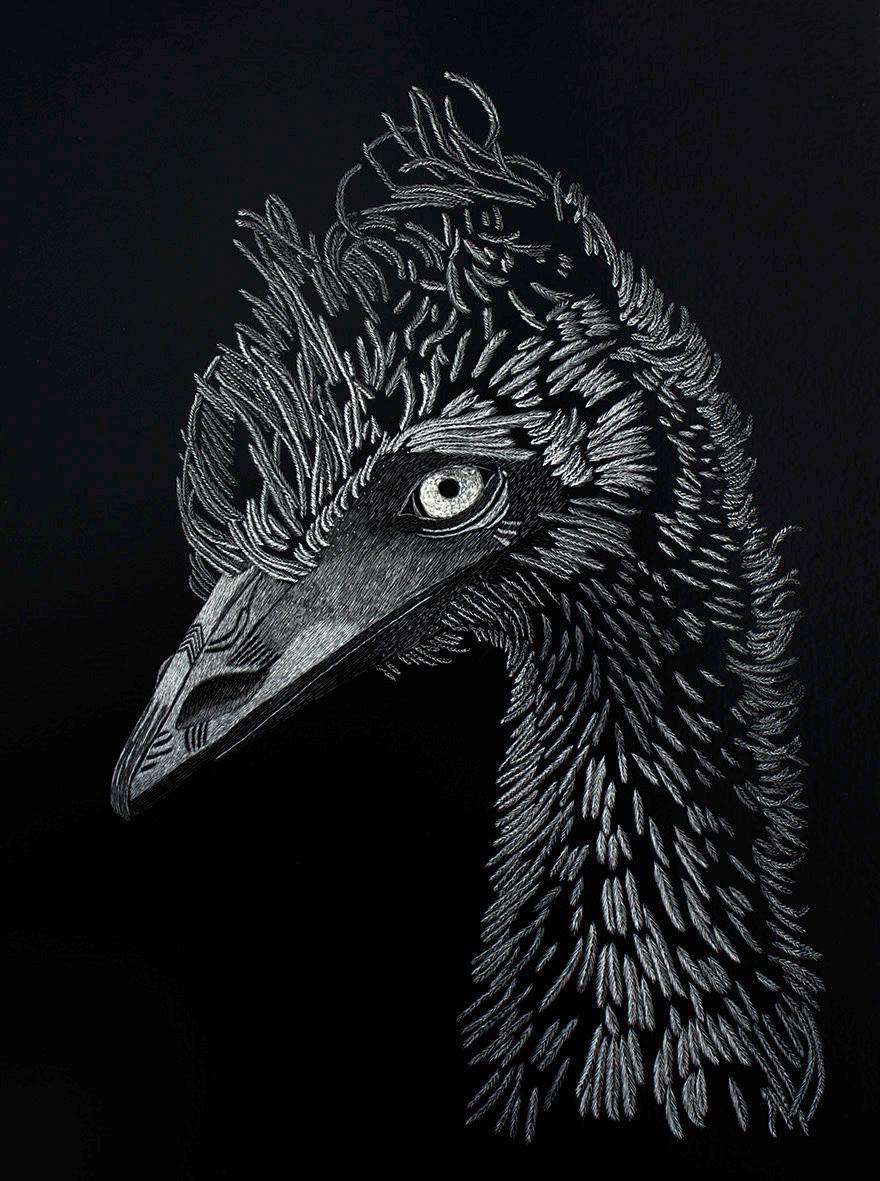 Old Man Emu - SOLD