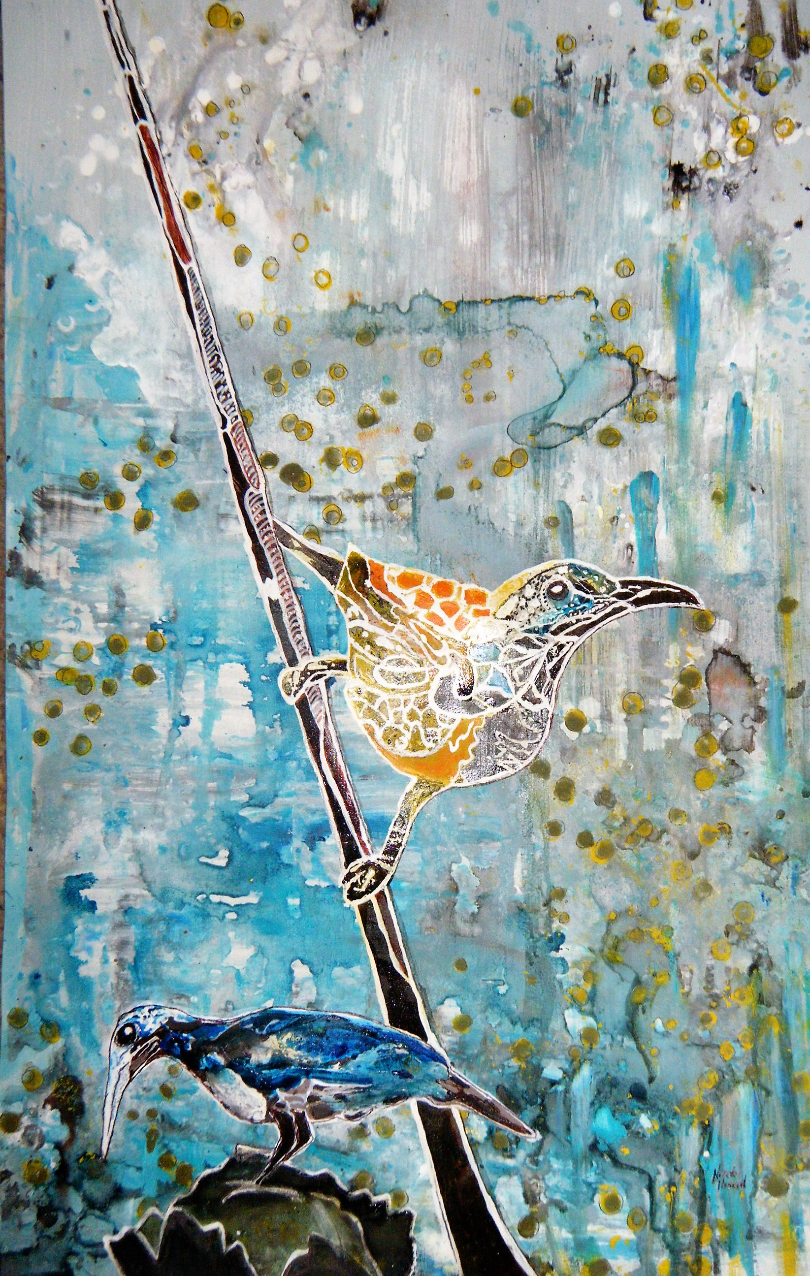 Bird Watching - SOLD