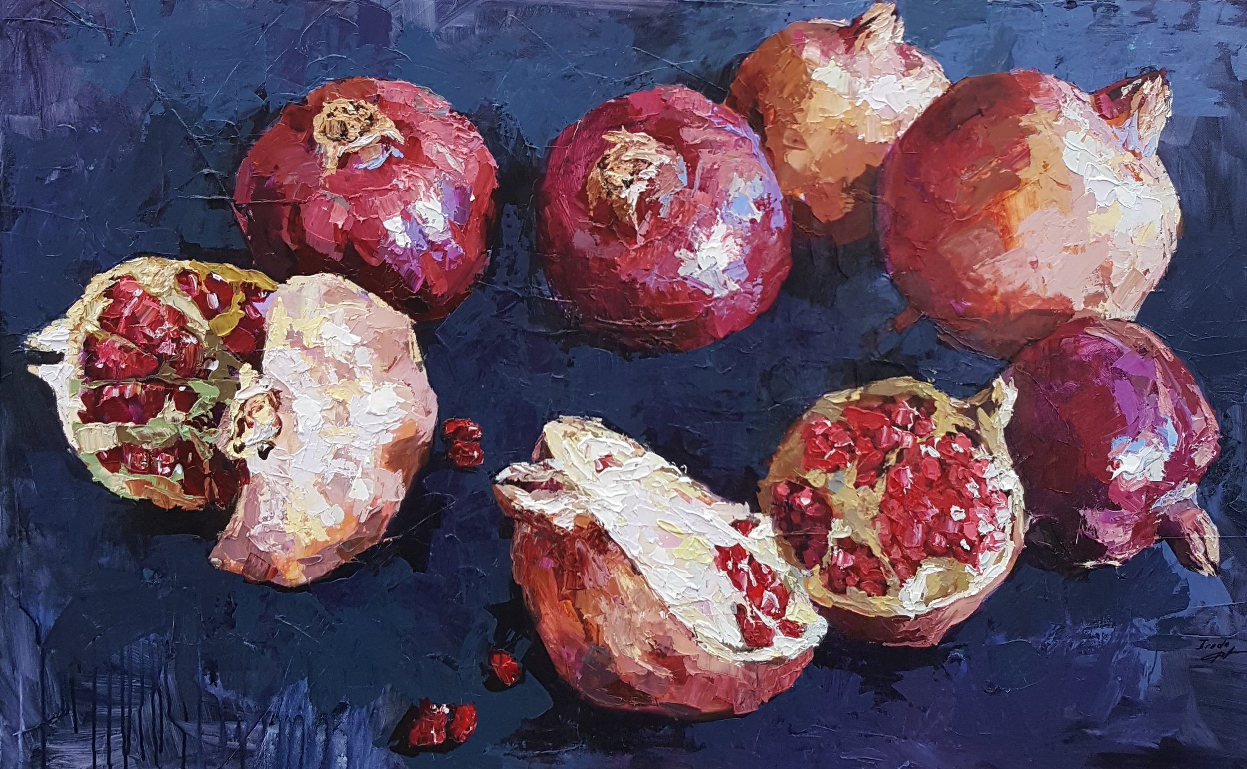 Pomegranates - SOLD