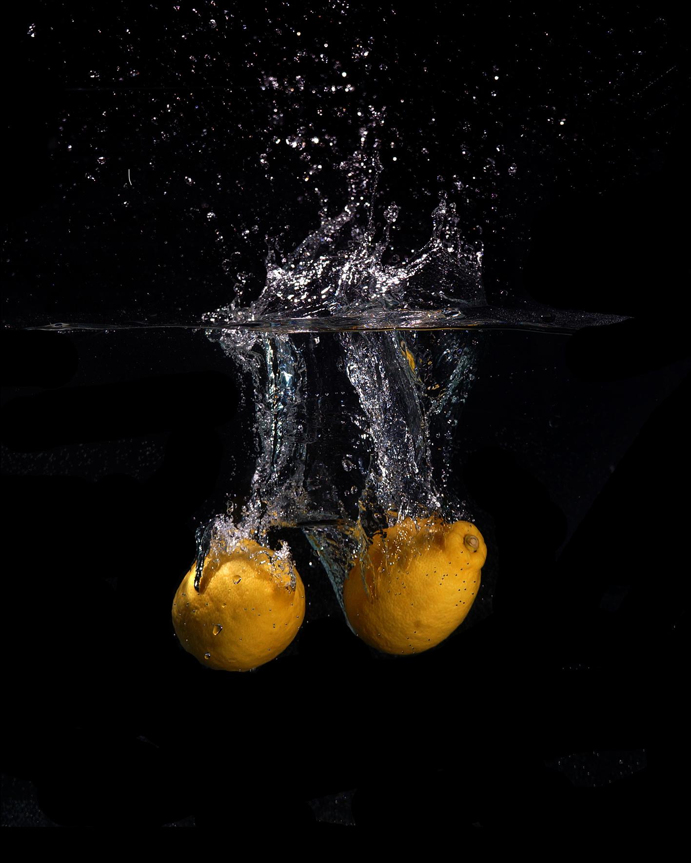 NEW - Lemon splash 1 - SOLD