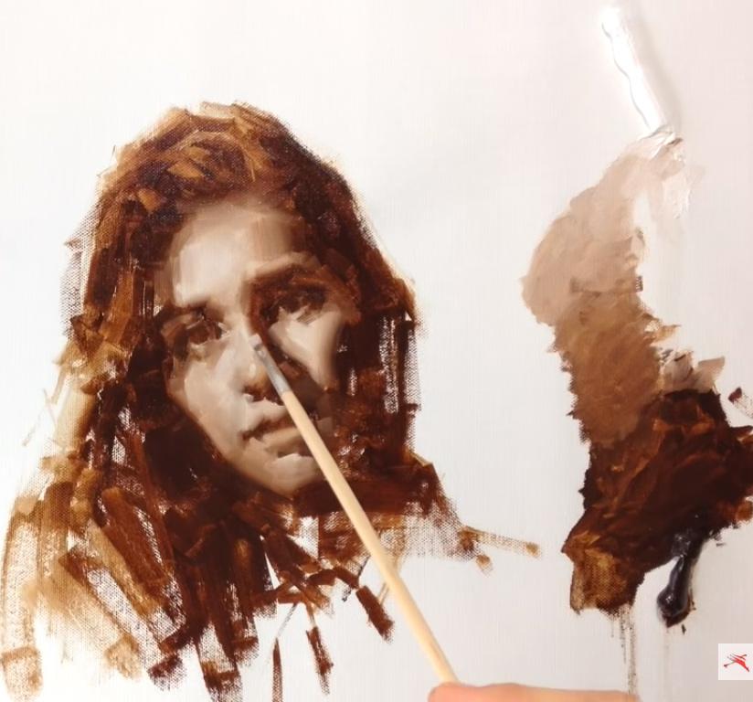 One of Zin Lim's monochrome portraits on YouTube - https://www.youtube.com/watch?v=cFu8Z6GEMp8