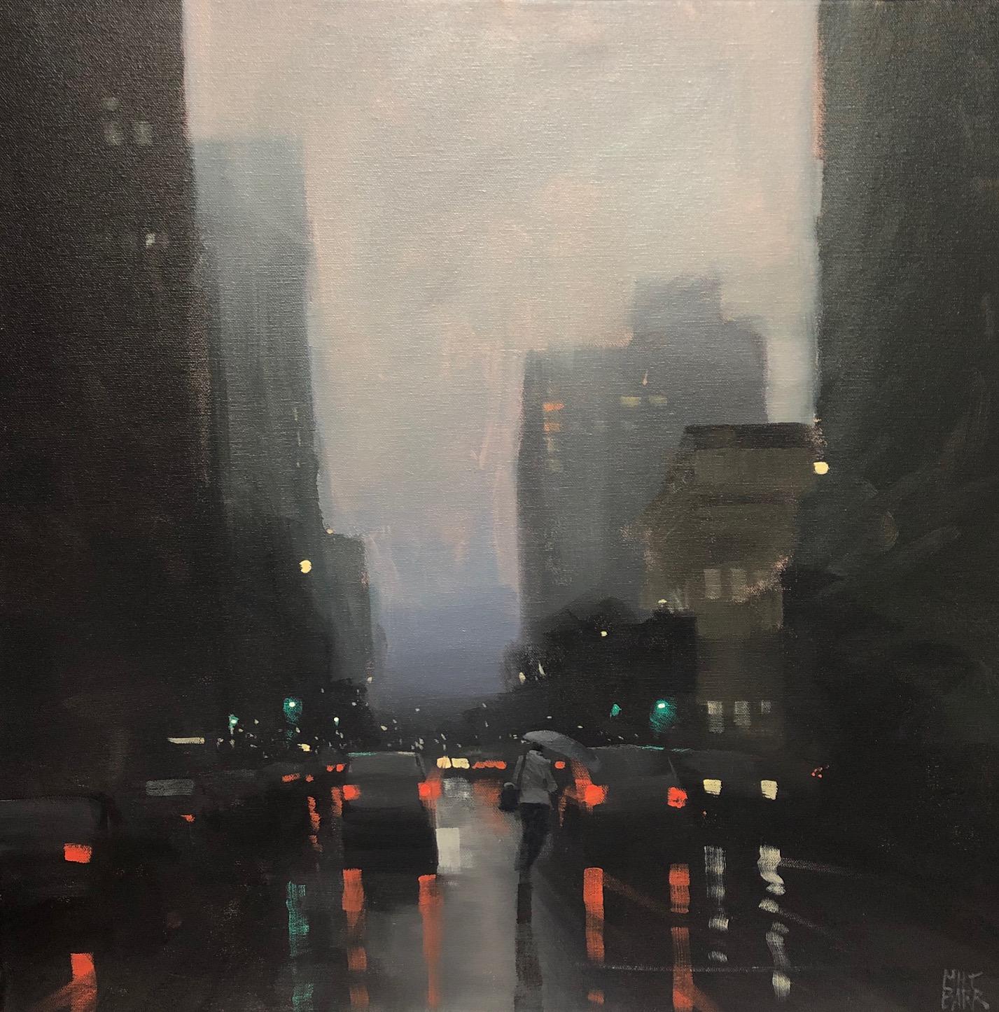 Flinders Street Rain - SOLD