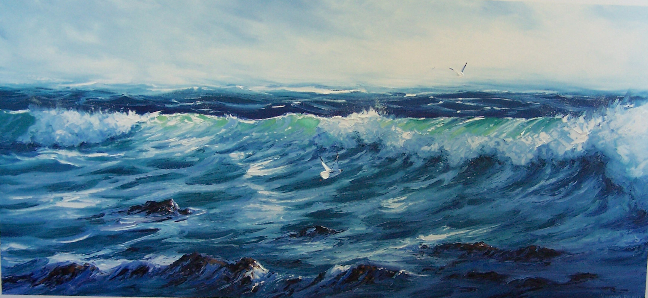 Strong Winds - SOLD