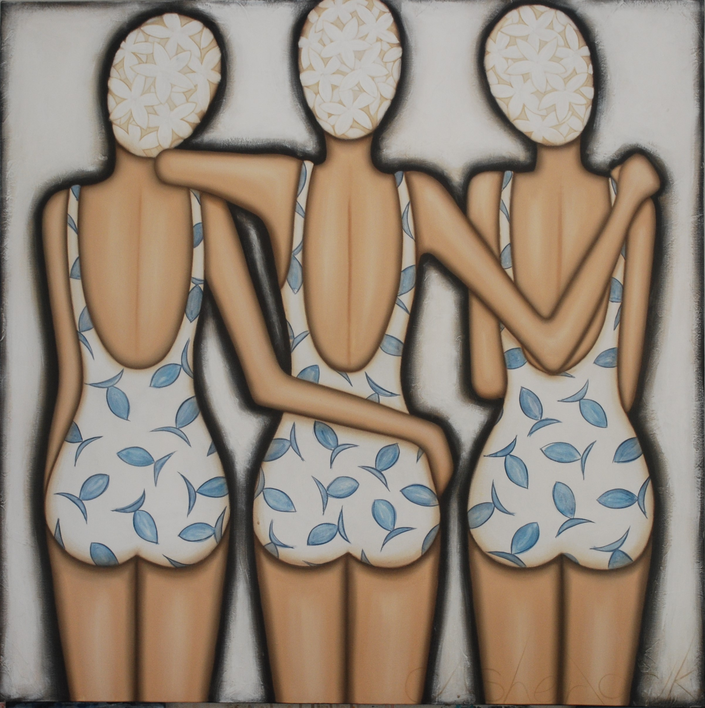 Bathers - SOLD