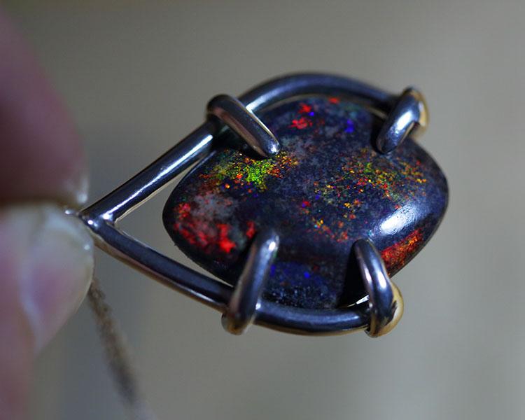 Fire - Burning Ember pendant