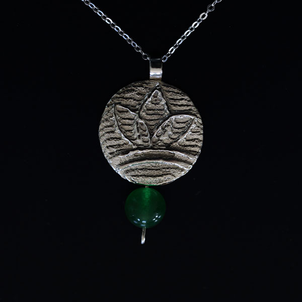 Earth - Leaf pendant