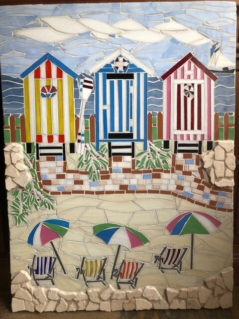 Beach Huts - SOLD