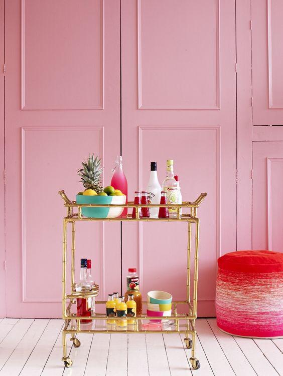 Drinks trolley, house lust blog