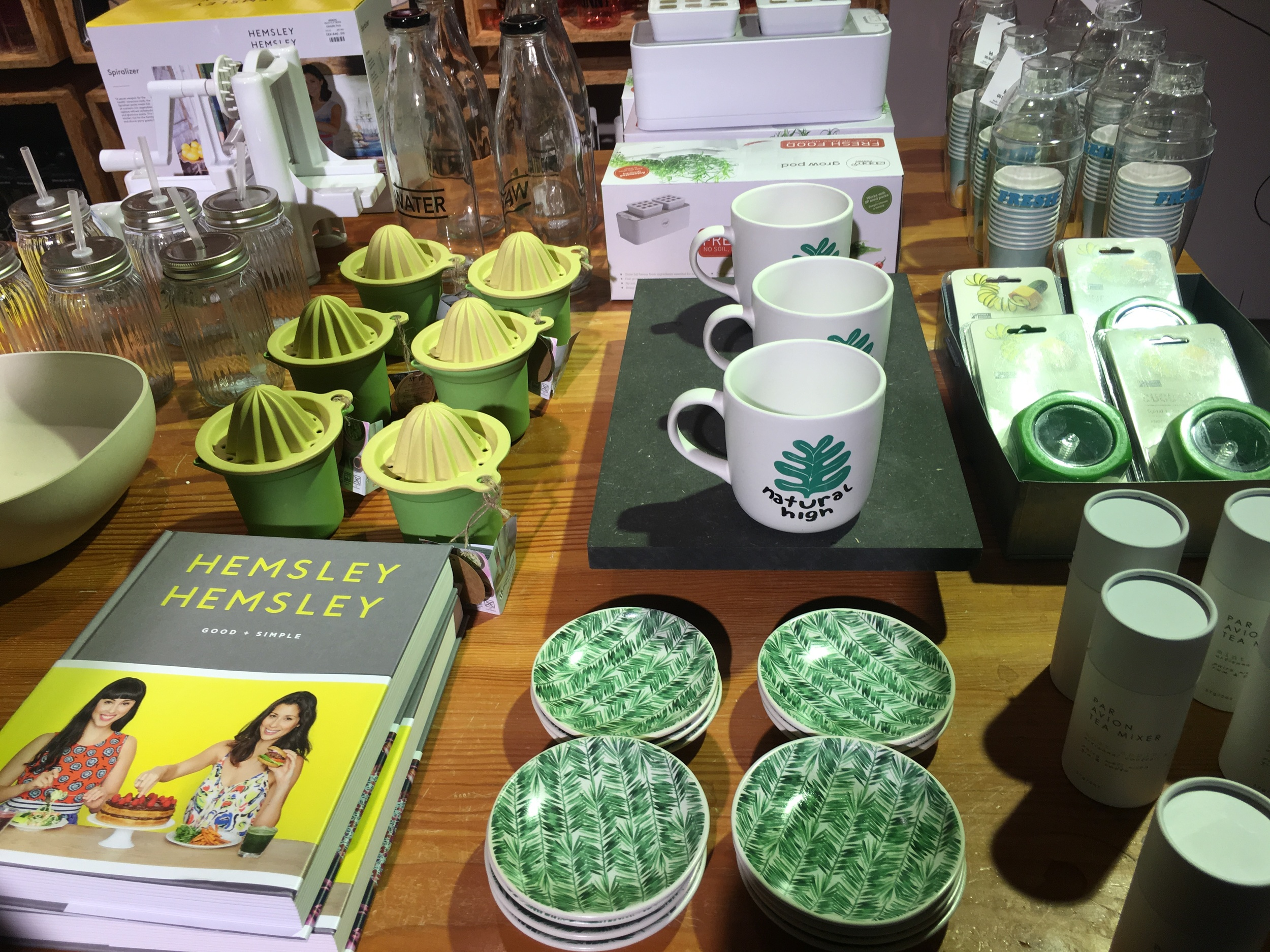 Homeware accessories at Urban Outfitters, Stockholm.